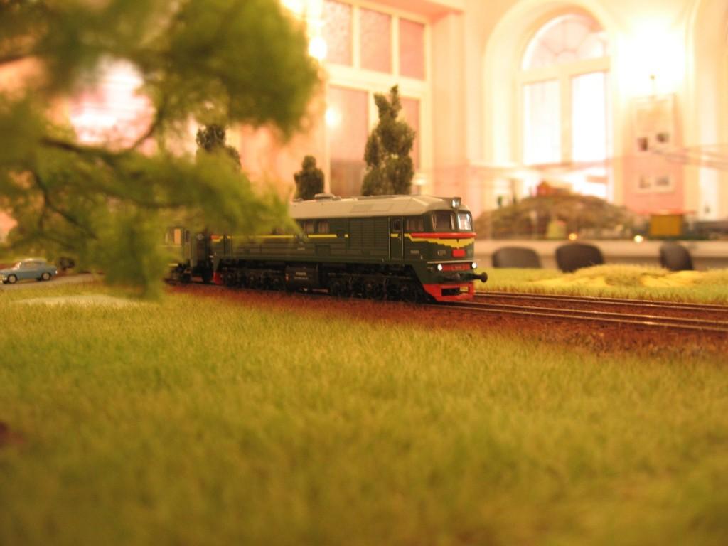 Выставка моделей железных дорог, Харьков