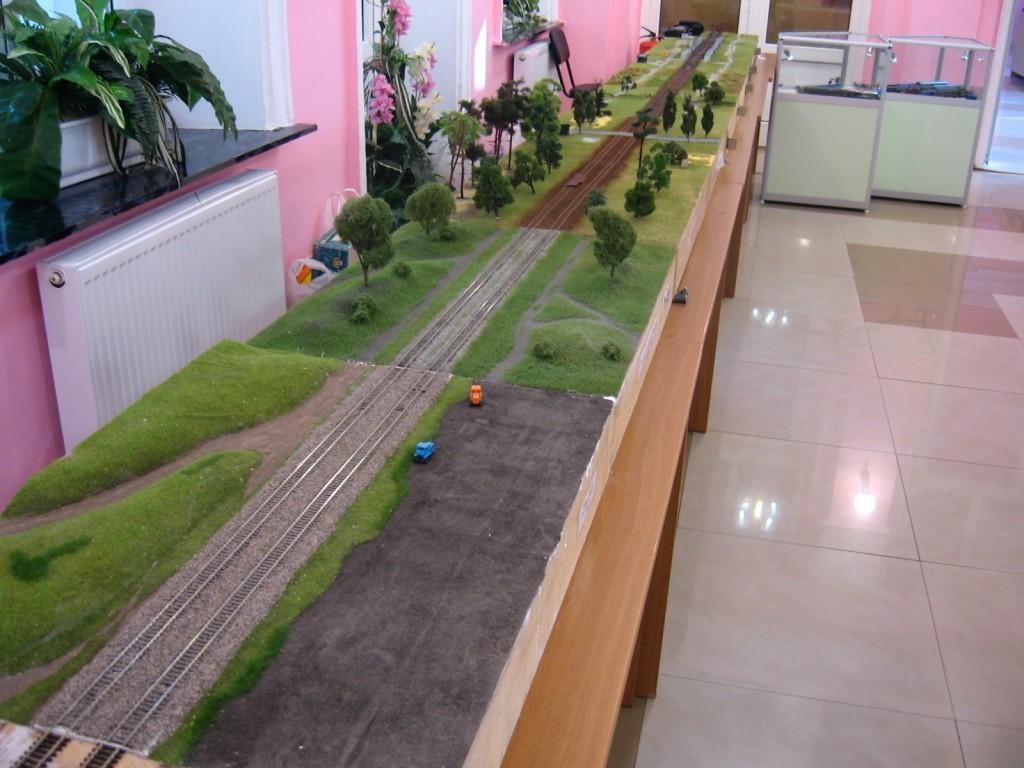 Выставка железнодорожного моделизма в Харькове
