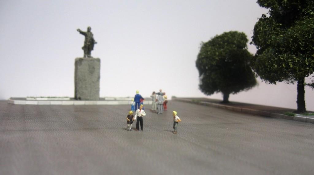 Макет площади, ТТ