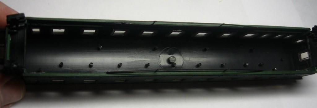 Разборка модели егоровского вагона, ТТ (1:120)