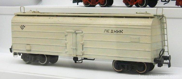 Модели железных дорог Б. С. Федорова
