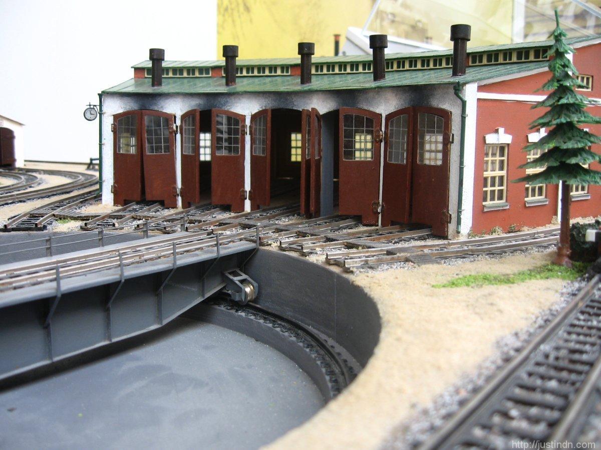 Макет железной дороги Б. С. Федорова в музее ЮЖД