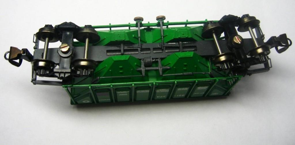 Модель хоппера, ТТ (1:120)