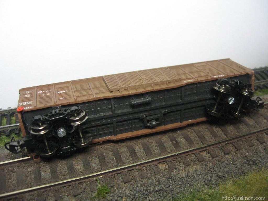 Крытый вагон 11-217, МоделисТТ